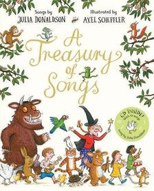 A Treasury of Songs ( Book + CD ) by Julia Donaldson
