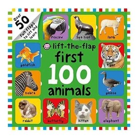 Lift-the-flap - First 100 Animals