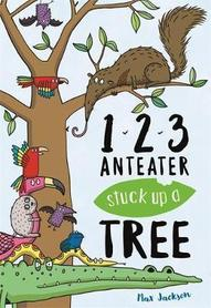 1,2,3 Anteater stuck up a tree