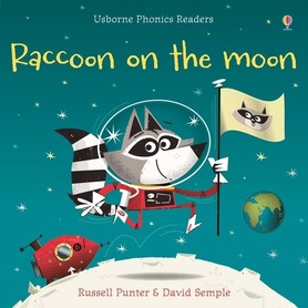 Raccoon on the moon - Usborne Phonics Readers