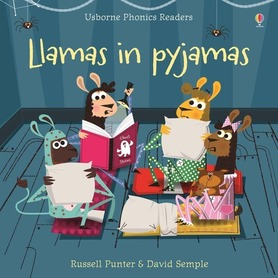 Llamas in pyjamas - Usborne Phonics Readers