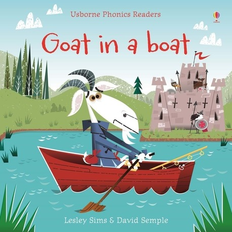 Goat in a boat - Usborne Phonics Readers (1)