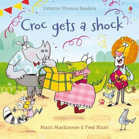 Croc gets a shock - Usborne Phonics Readers (1)